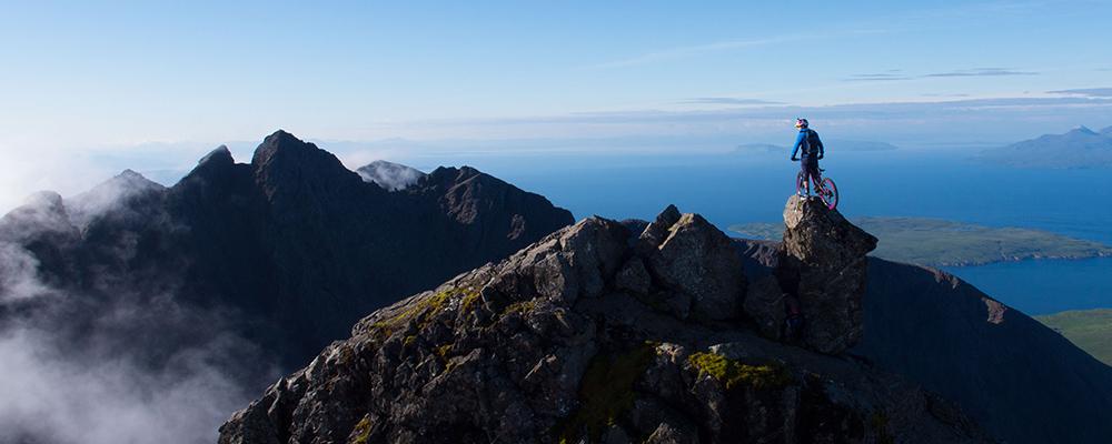 Danny MacAskill - InPinn Skye Cuillin Mountain